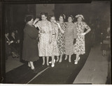Women's fashion show, 1953.