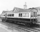 Steam railcar, late 19th-early 20th century.