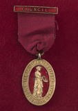 Badge for membership of the Sanitary Institute Council, 1850-1920.