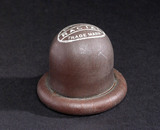 Rubber cervical cap, c 1920s.