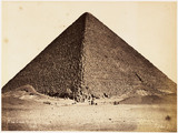 'Great Pyramid of Gezeh', c 1880.