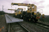 Tracklaying at Motherwell, 1999.