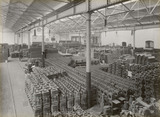 Warehouse at Doncaster works, South Yorkshire, c 1916.