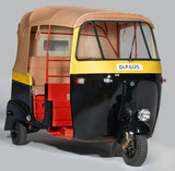 Autorickshaw, India, 1982.