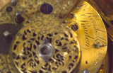 Spring-driven watch with cylinder escapement, 1701-1800.