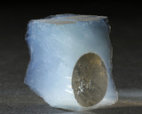 Sample of aerogel used to collect dust particles, Stardust comet mission, 1999.