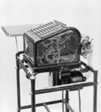 Burrough's adding and listing machine, c 1890s.