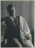 'Ethiopian with a pipe' (also know as 'The Smoker'), c 1897.