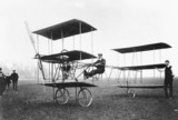Roe triplane at Lea Marshes, May 1909.
