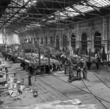 Wagon-building, Earlestown Works, c 1930s.
