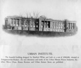 The Urban Institute, USA, 1919.
