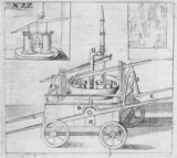 Manual fire engine, 1612.