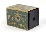Kodak 'Brownie' box camera, 1900.