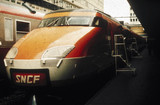 SNCF train, France, c 1980s.