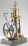 Columnar steam engine, 1862.