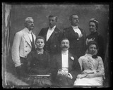 'Group Portrait Of The Adams Family', c 1895