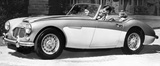 Austin Healey '100' Six, October 1956.