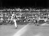Fred Perry, Wimbledon Tennis Championship, 23 June 1931.