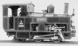 Print Snowdon rack Locomotive, 1895.