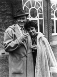 Michael Wilding and Elizabeth Taylor, British actors, 1952.