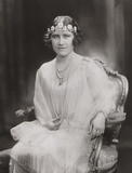 Portrait of Elizabeth, the Duchess of York, 1926.