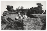 Brimham Rocks, North Yorkshire, 1968.