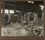 """'At labouring work in Dressing Shop', 1915-1918."""
