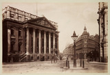 """'Mansion House and Queen Victoria Street, London', c 1890."""