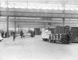 """Oldham Road goods depot, Manchester, c 1924."""