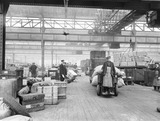 """Oldham Road goods depot, Manchester, 23 April 1924. """