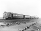 """Electric 5-car train bound for Liverpool, 29 May 1925. """