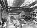 """Locomotives at Horwich works, Lancashire, 10 August 1926. """