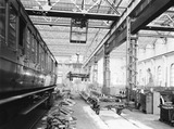 """Carriage repairs, Newton Heath Works, Greater Manchester, 5 March 1927. """