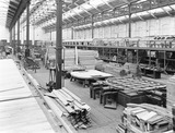 """Wagon building at Newton Heath works, Greater Manchester, c 1927."""