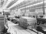 """Wood at Newton Heath Carriage works, Greater Manchester, c 1926."""