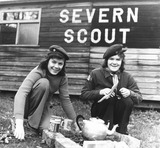 """Girl Scouts, January 1976."""