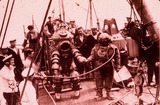 """Peress' 'Tritonia' diving suit, 1935."""