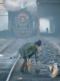 Jixi Colliery Railway, Heilongjiang province, China, 2006