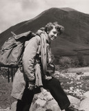 Girl on an Outward Bound Course in Cumbria, 1954