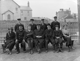 GWR Staff at Porthcawl New Station c.1915.