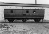 Luggage Brake Van no. 982, GNR. Doncaster, England.