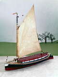 Norfolk wherry, 19th century.