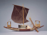 Egyptian ship, c 1300 BC.