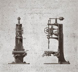 'Patent Self Acting Drilling and Boring Machine', 1833-1857.