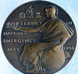 Bronze medal isued by the London, Midland