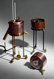 Three viscometers, 1885-1911.