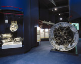 Black Arrow engines, Space Gallery, Science Museum, London, 1996.