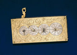 Pedometer, early 18th century.