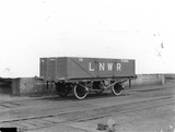 10 ton open goods wagon numbered 75919. London & North Western Railway. England, 1912.