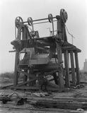 Coal tipping staithe. Denby Grange Collieries Ld.